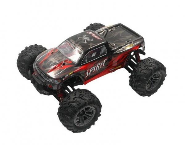 Spirit 4WD 1:16 2.4GHz RTR - červený - 9135