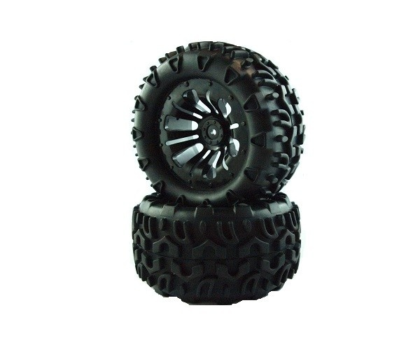 Truck wheels 1:10 2pcs - 10138