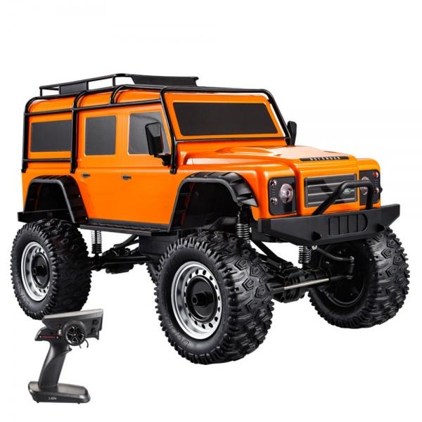 Land Rover Defender 1/8 - 50cm - oranžový