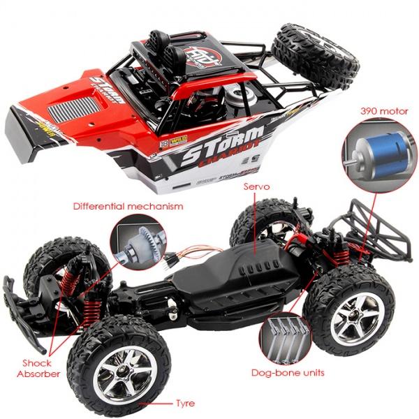 Subotech buggy 4x4 - 45km/h