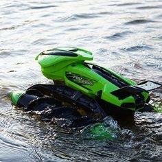 Obojživelník Amphibious Stunt Car - modrý maskáč