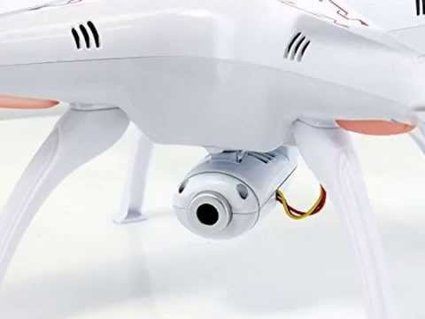Syma X5Cs PRO - 50 minut letu - HD kamera