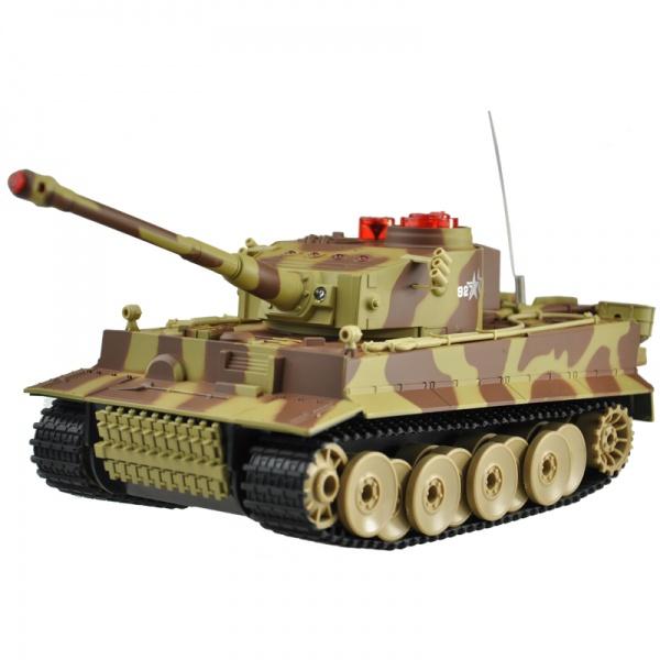 German Tiger 1/24 - infra střely - neotáčí se hlaveň