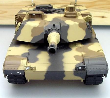 RC tank 1:24 M1A2 ABRAMS - samovolně se otáčí hlaveň
