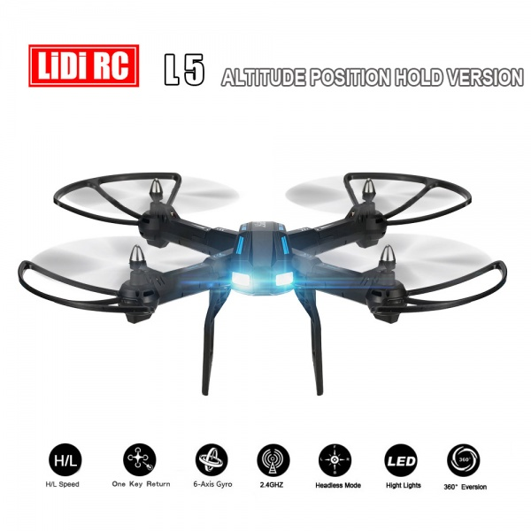 LIDI-5 - velký dron s HD pohyblivou kamerou a barometrem