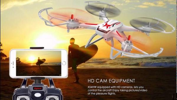 Dron SYMA X54HC + HD kamera + barometr (vypinatelný)