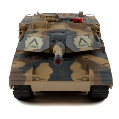 Abrams 1/24 2,4Ghz - infra střely