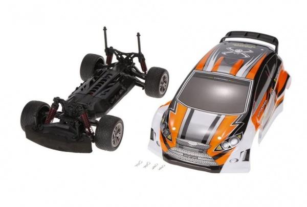 RC Rally car 2WD 1/12 - ORANŽOVÁ