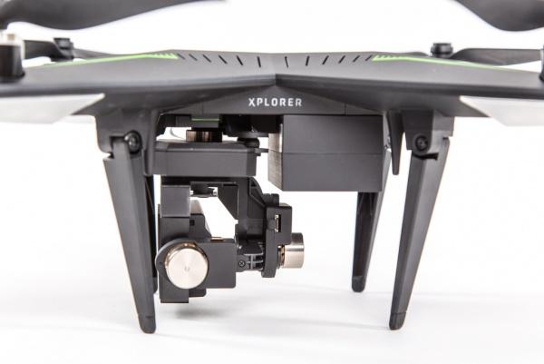 Xiro Xplorer G + baterie - dron vhodný pro GoPro Hero kameru