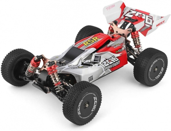 WL Evolution 1/14 4WD - Červená