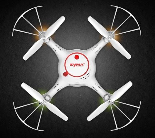 SYMA X5UC-PRO 50 minut letu + barometr + HD kamera