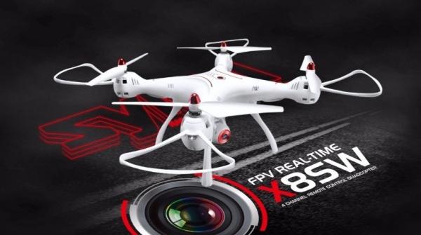 SYMA X8SW-4K - barometr, FPV přenos, 4K kamera