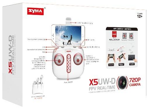 SYMA X5UW-D PRO - 50 minut letu