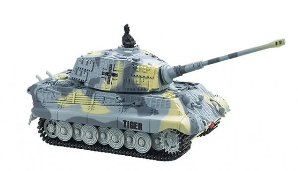 King Tiger 1/72 - tank na dálkové ovládání