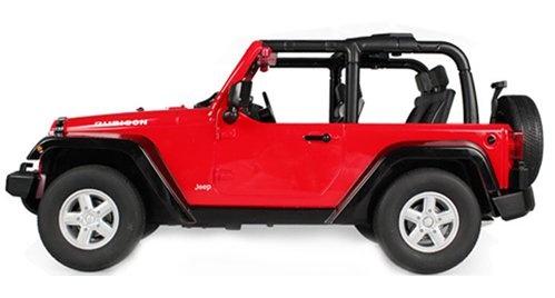 Jeep Wrangler 1:9 - prokluzují převody