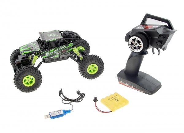 Crawler ENGINE - proporcionální - nezatáčí