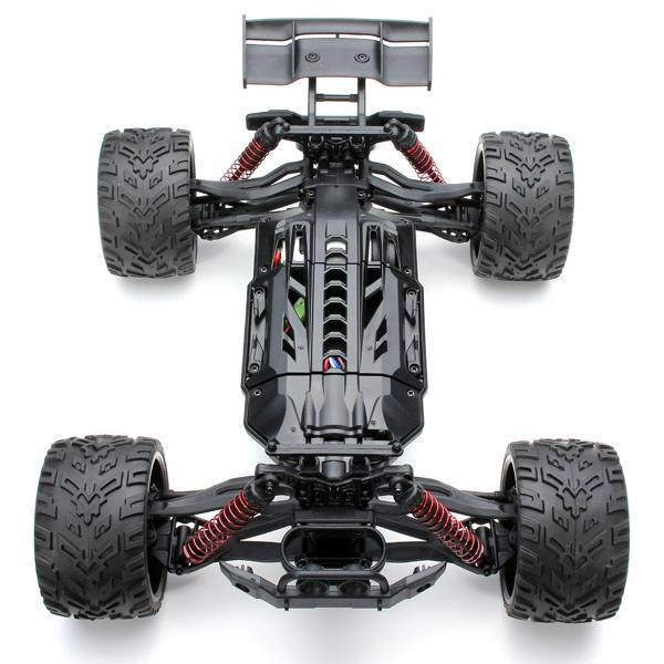 Truggy 1/12, 2WD, 38km/h, 2,4Ghz - červená