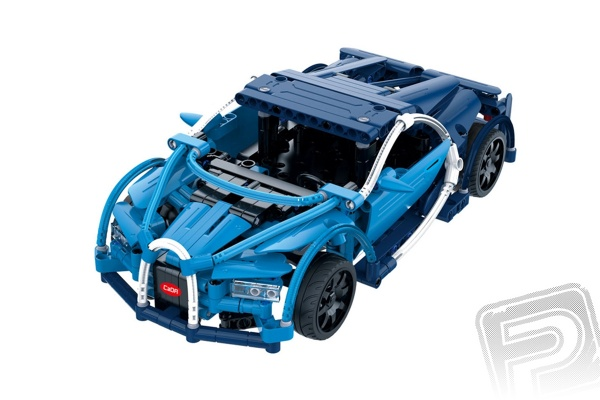 Bugatti Chiron  - RC stavebnice z kostek