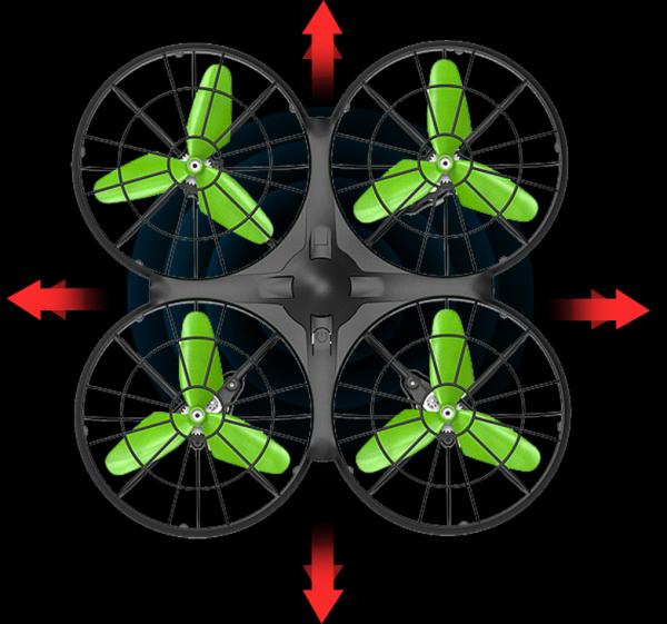 SYMA X26 - chybí akumulátor