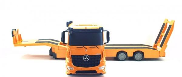 Tahač Mercedes Benz Arocs nefunguje napojení návěsu ostatní funkce ok