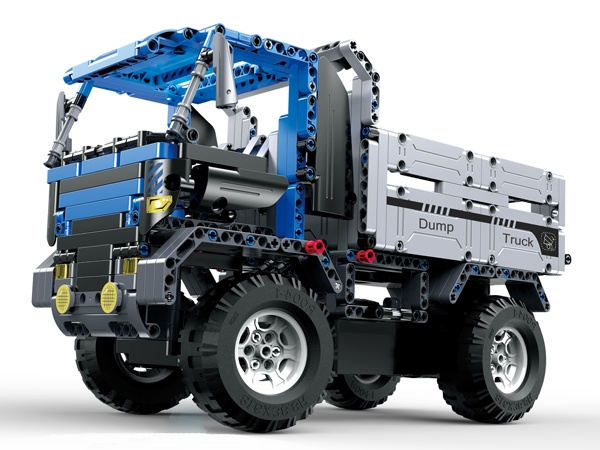 Stavebnice Dump Truck - chybí podvozek