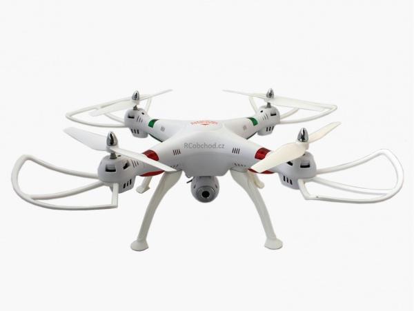 K800HD - RC dron s HD kamerou a dlouhou dobou letu