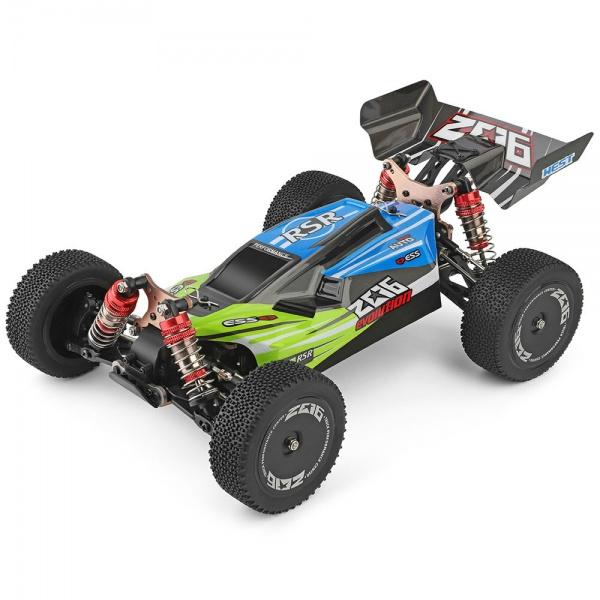 WL Evolution 1/14 4WD - Modrá