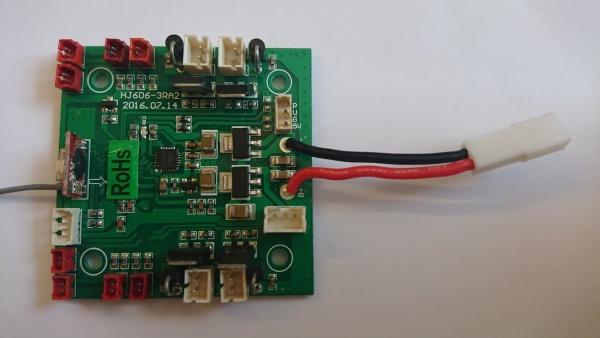 Základní deska PCB pro LiLy U-FLY