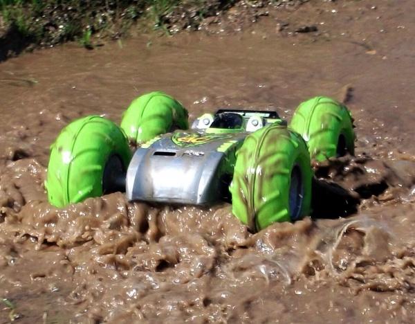 RC EXTREME Stunt - obojživelné RC auto
