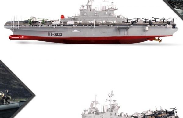 Vojenská loď USS Wasp LHD-1 - 1/350