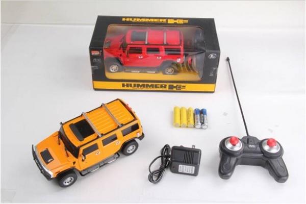 RC Hummer H2 1:24 - rc auto na vysílačku, délka 20cm