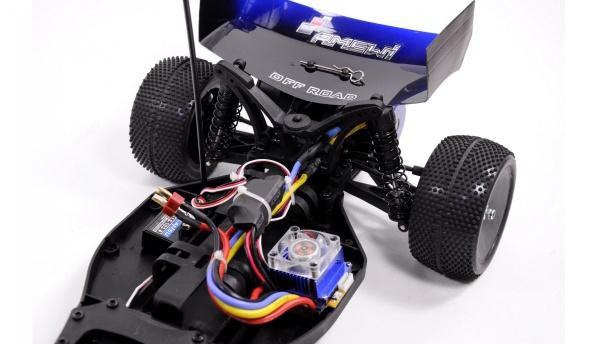 Buggy AM10B-PRO - střídavý motor 60km/h