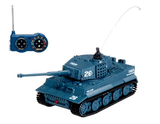 Mini RC tank Tiger 1/72