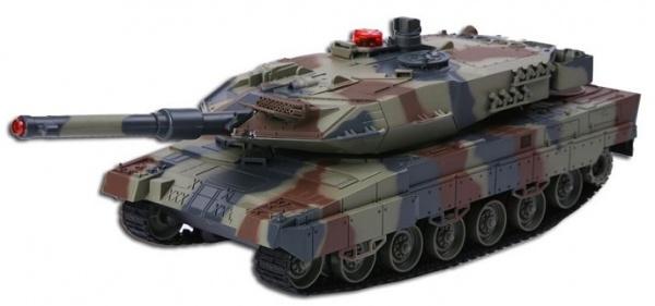 Velké soubojové tanky Leopard 2A6 - 2ks v balení
