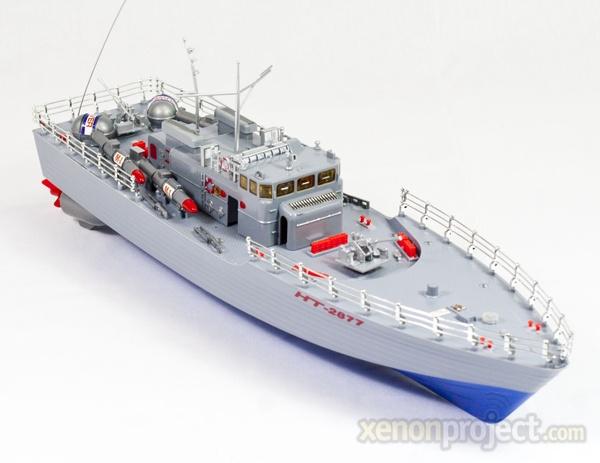 RC torpedo boat 1:115