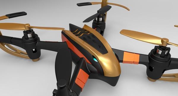 ZHAN X4 - nejrychlejší dron na trhu 2x akumulátor