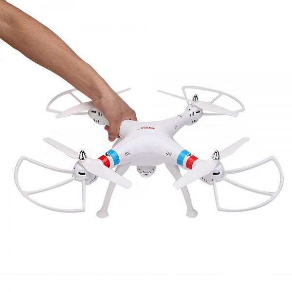 SYMA X8CW Wifi FPV - Velký kvalitní dron s online přenosem videa