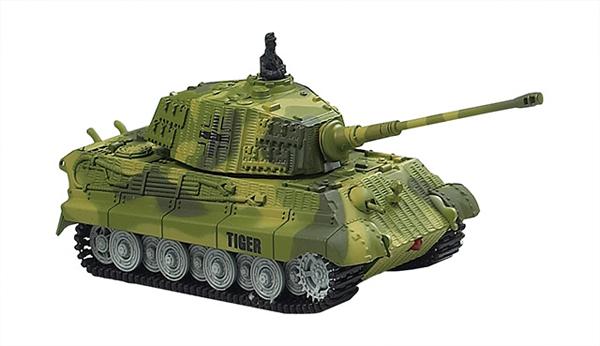 King Tiger 1/72 -tank na dálkové ovládání