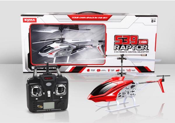 Raptor S-39 2,4Ghz - červená