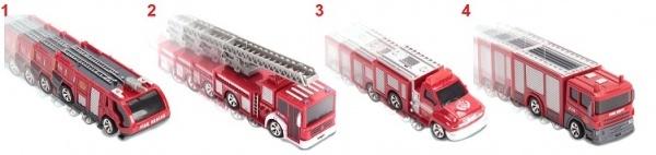 Mini RC model hasičského auta na dálkové ovládání