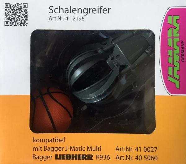 Funkční drapák pro bagr LIEBHERR R936