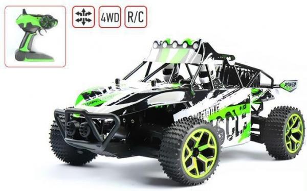 X-Knight MUSCLE Buggy 1:18 RTR, 4WD - Červená
