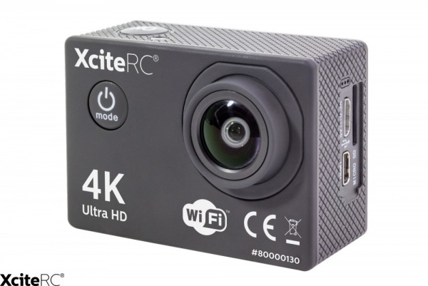 Action-Cam Ultra HD 4K 16MP! WiFi
