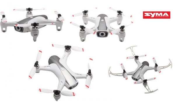 SYMA W1 - 1080p - střídavé motory - GPS