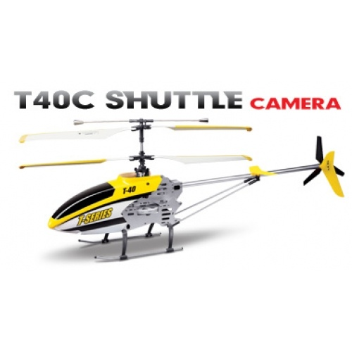 T-40C 2.4GHz - RC vrtulník s kamerou