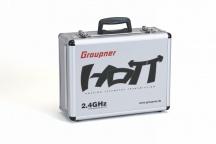 Alu-vysílačový kufr GRAUPNER HoTT 400x300x150mm