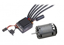 GM Racing - brushless GM-Genius Race II 80R regulátor + 17,5T GM Motor