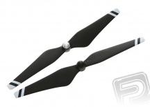 E305 - 9450 vrtule černo-bílá plněná uhlíkovým vláknem (CW+CCW)