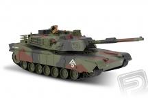 M1A1 Abrams 1:20 RC tank 2.4 Ghz voděodolný podvozek