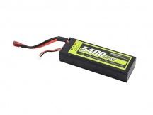 Akumulátor 7,4V 5400mah 45C Hardcase LiPo ZA SKVĚLOU CENU !!!